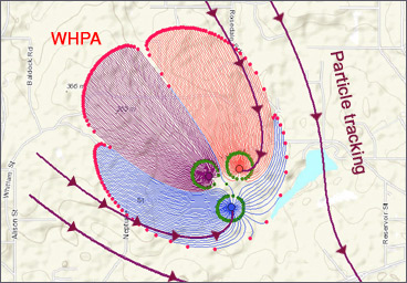 Capture Zones Delineation (WHPA)